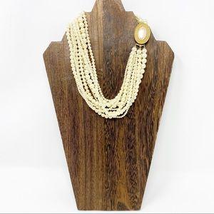 Carol Lee Beaded Layered Necklace
